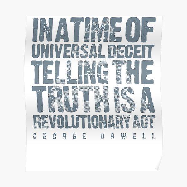 ORWELLIAN TRUTH Poster