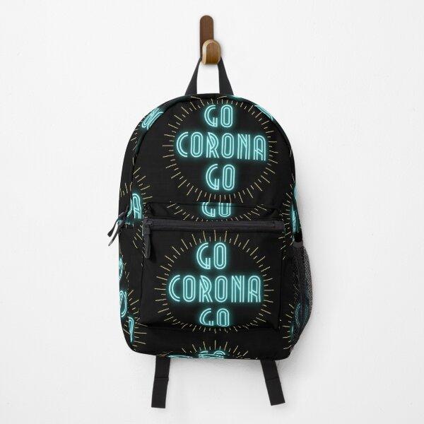 go corona go digital artwork Backpack