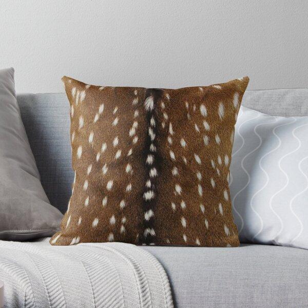 Natural deer skin pattern  Throw Pillow
