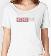 CCM logo Women's Relaxed Fit T-Shirt