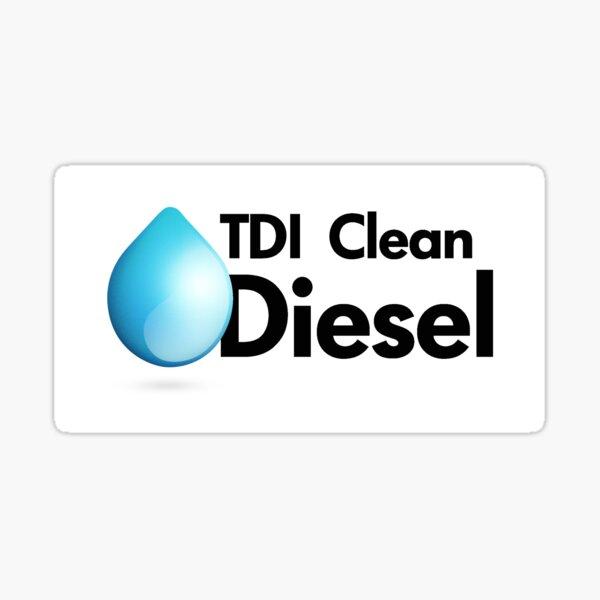 TDI Clean Diesel Sticker