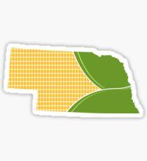 Cornfed Nebraska Sticker