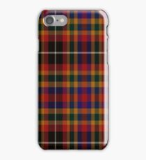 02372 Mecklenburg County, North Carolina  Fashion Tartan  iPhone Case/Skin