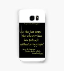 Roleplay Quotes - On Traps Samsung Galaxy Case/Skin