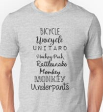 Gilmore Girls - Bicycle Unicycle Unisex T-Shirt