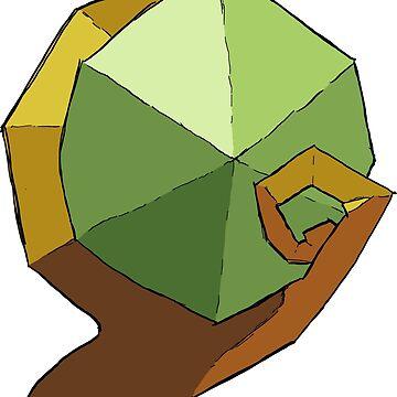 Kokiri's Emerald by randomraccoons