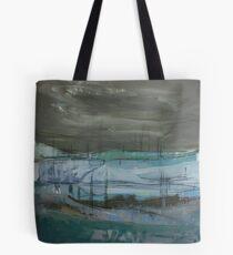 grey landscape Tote Bag