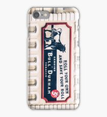Bull Durham iPhone Case/Skin