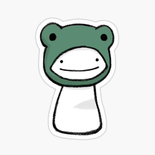 Blob Dream in Frog Hood Sticker