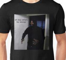 "MC ride walking into a door saying ""oh boy whats for di Unisex T-Shirt"