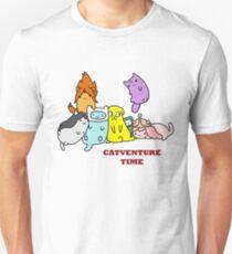 Catventure Time Slim Fit T-Shirt