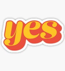 Affirmative Sticker