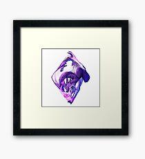 Ace of Dragons: Diamonds Framed Print