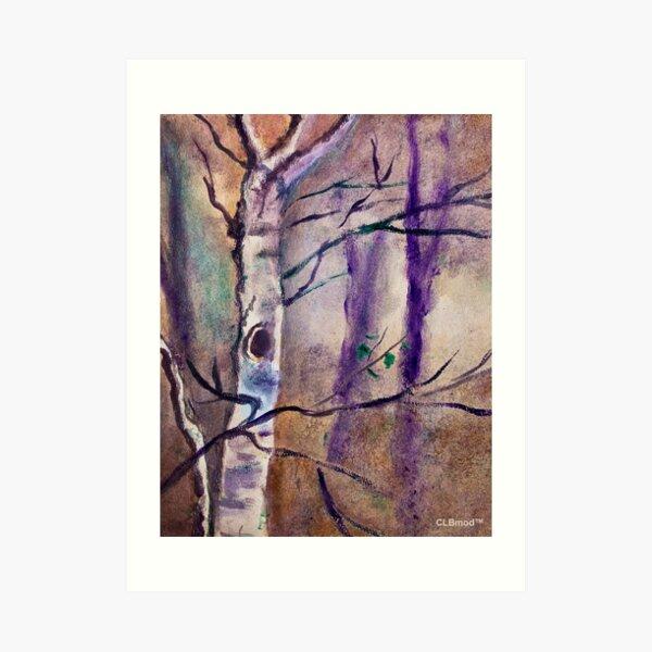 Creepy Tree Art Print