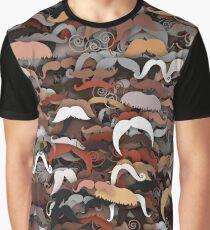 Moustaches Graphic T-Shirt