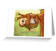 Lazy Tree Friends Greeting Card