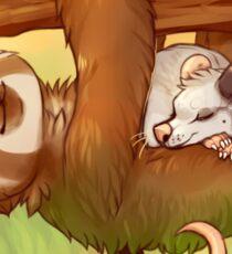 Lazy Tree Friends Sticker
