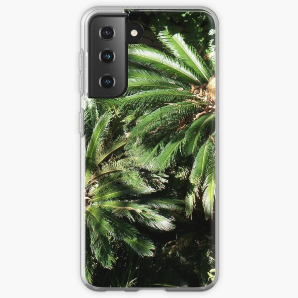 His and her palm trees Samsung Galaxy Soft Case