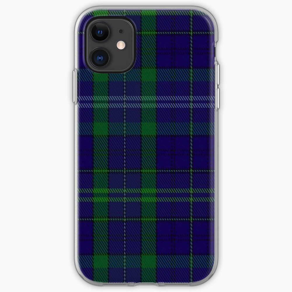 02362 Davies of Wales Tartan iPhone Case & Cover