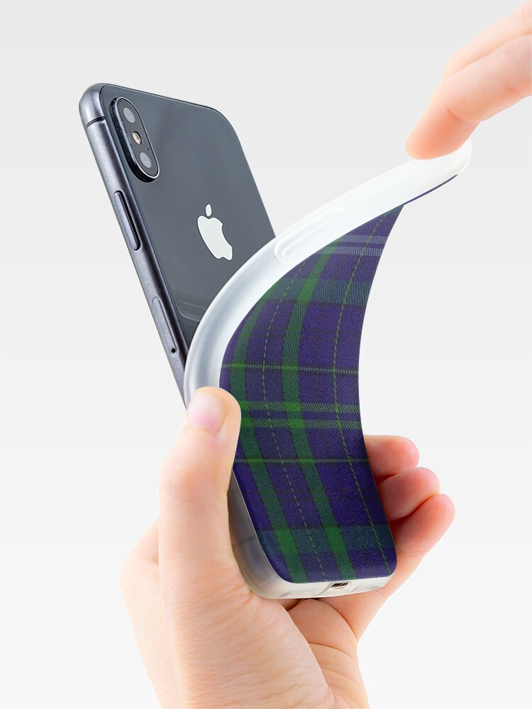 Alternate view of 02362 Davies of Wales Tartan iPhone Case & Cover