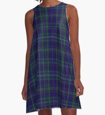 02362 Davies of Wales Tartan A-Line Dress