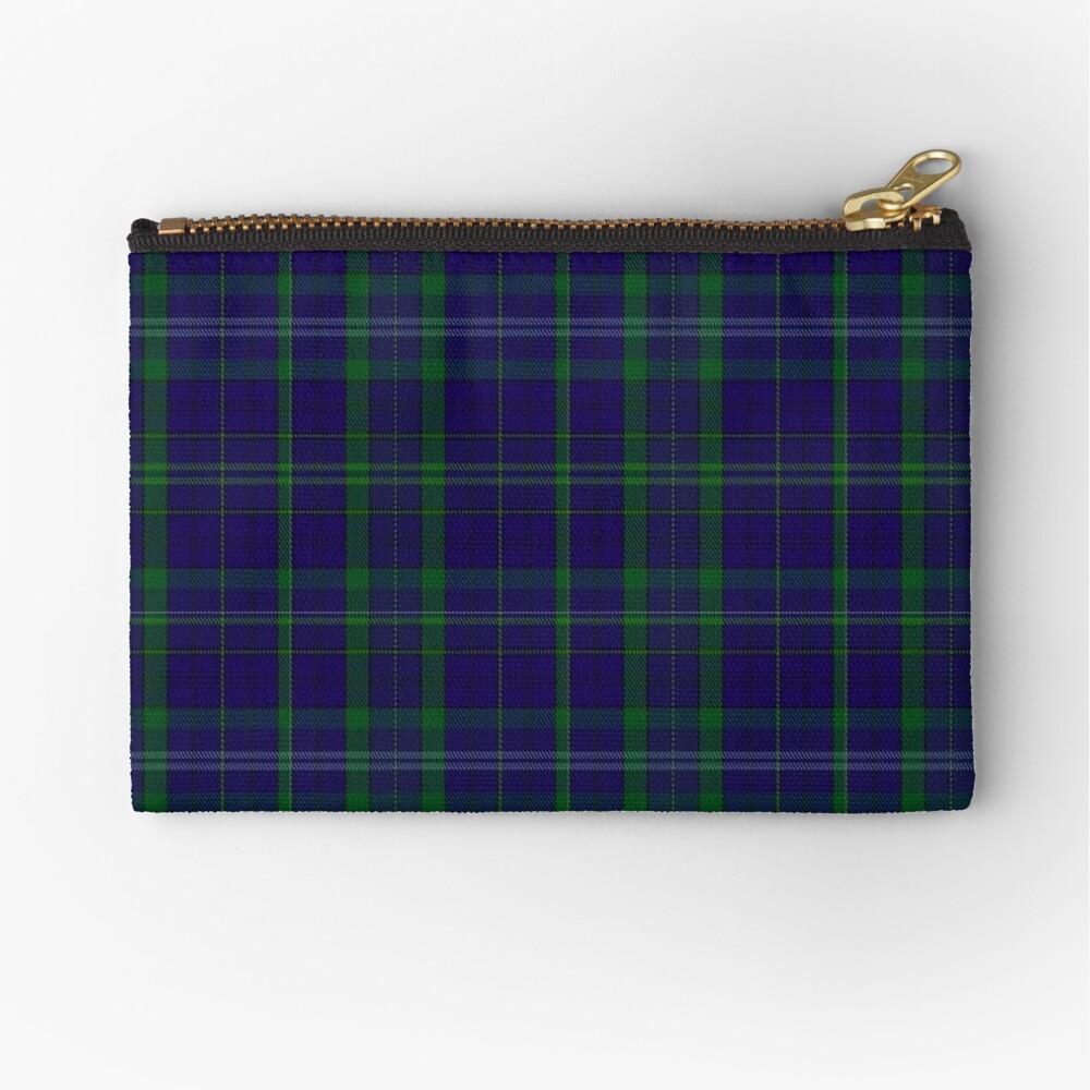 02362 Davies of Wales Tartan Zipper Pouch