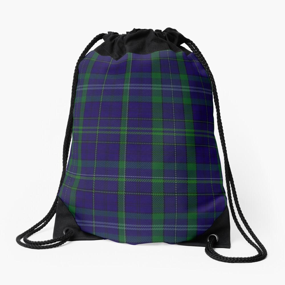 02362 Davies of Wales Tartan Drawstring Bag