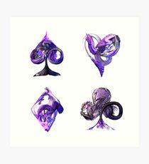 Aces of Dragons Art Print
