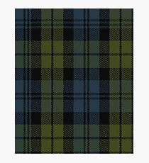 10014 Campbell Clan Tartan  Photographic Print