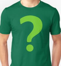 Enigma - green question mark T-Shirt