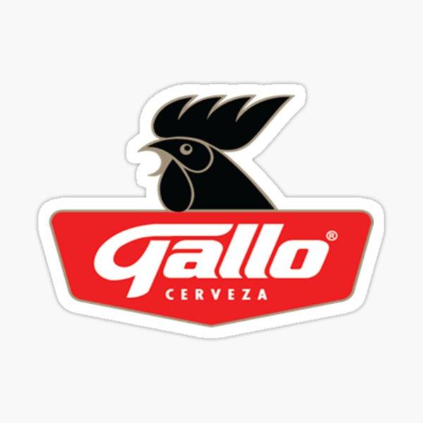 The Gallo Cerveza Beer Sticker