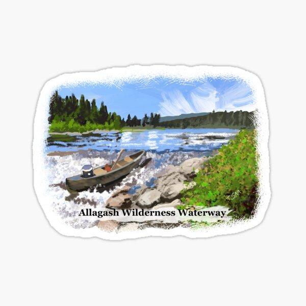 Allagash Wilderness Waterway Sticker