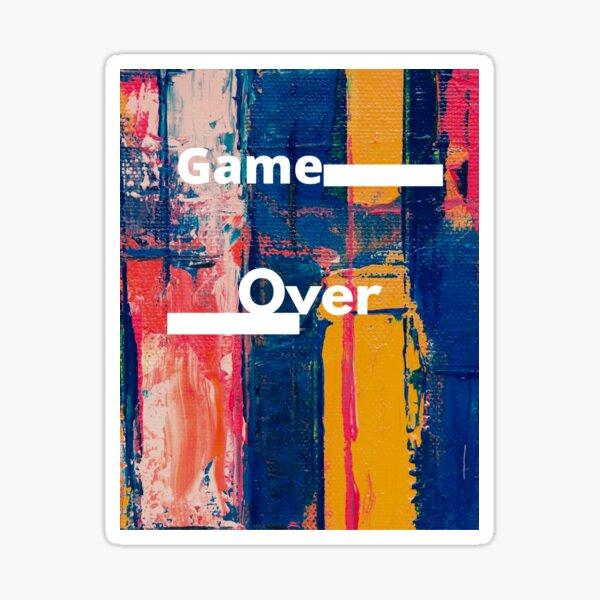 Game-over  Sticker