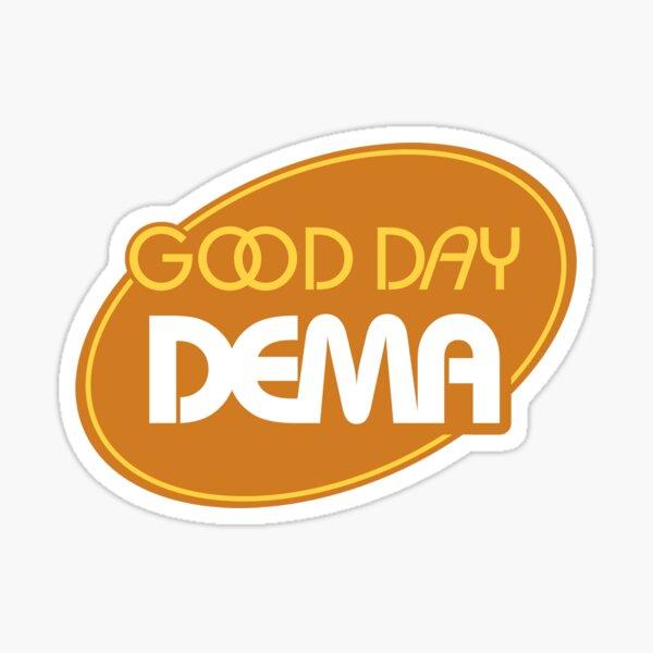 Good Day Dema Logo Sticker