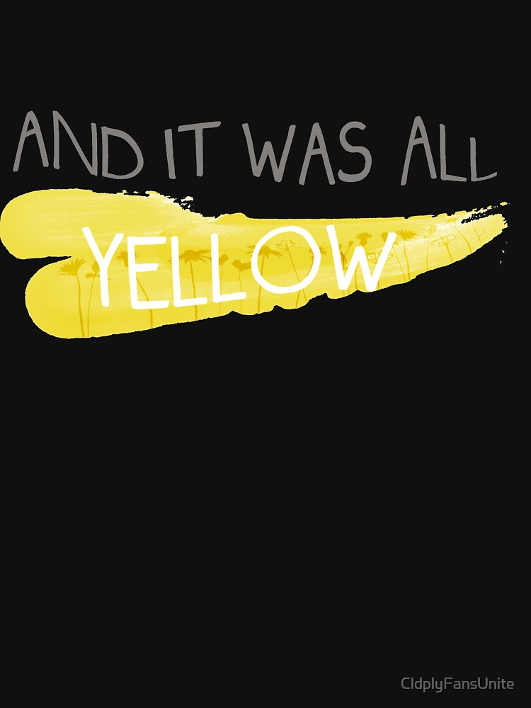 It was all yellow  | Women's Fitted Scoop T-Shirt