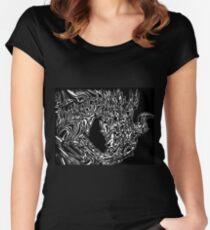 Alduin Dragon - The Elder Scrolls Skyrim Women's Fitted Scoop T-Shirt