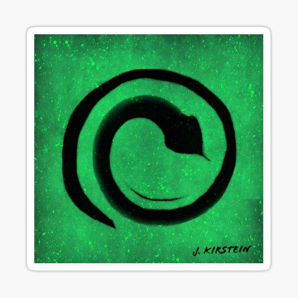 Heart Chakra Meditation Sticker