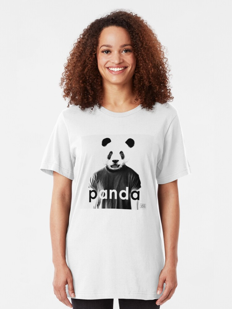 Alternate view of JACK BUCK PANDA OFFICIAL MERCH Slim Fit T-Shirt