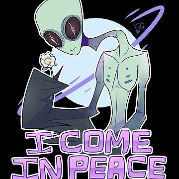 sweet alien dude by Baii