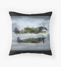 Supermarine Spitfire and Seafire Throw Pillow