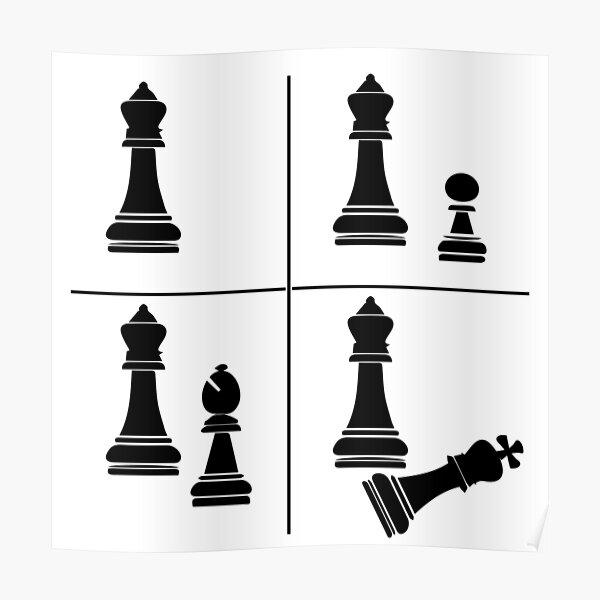 Chess Loss Meme Poster