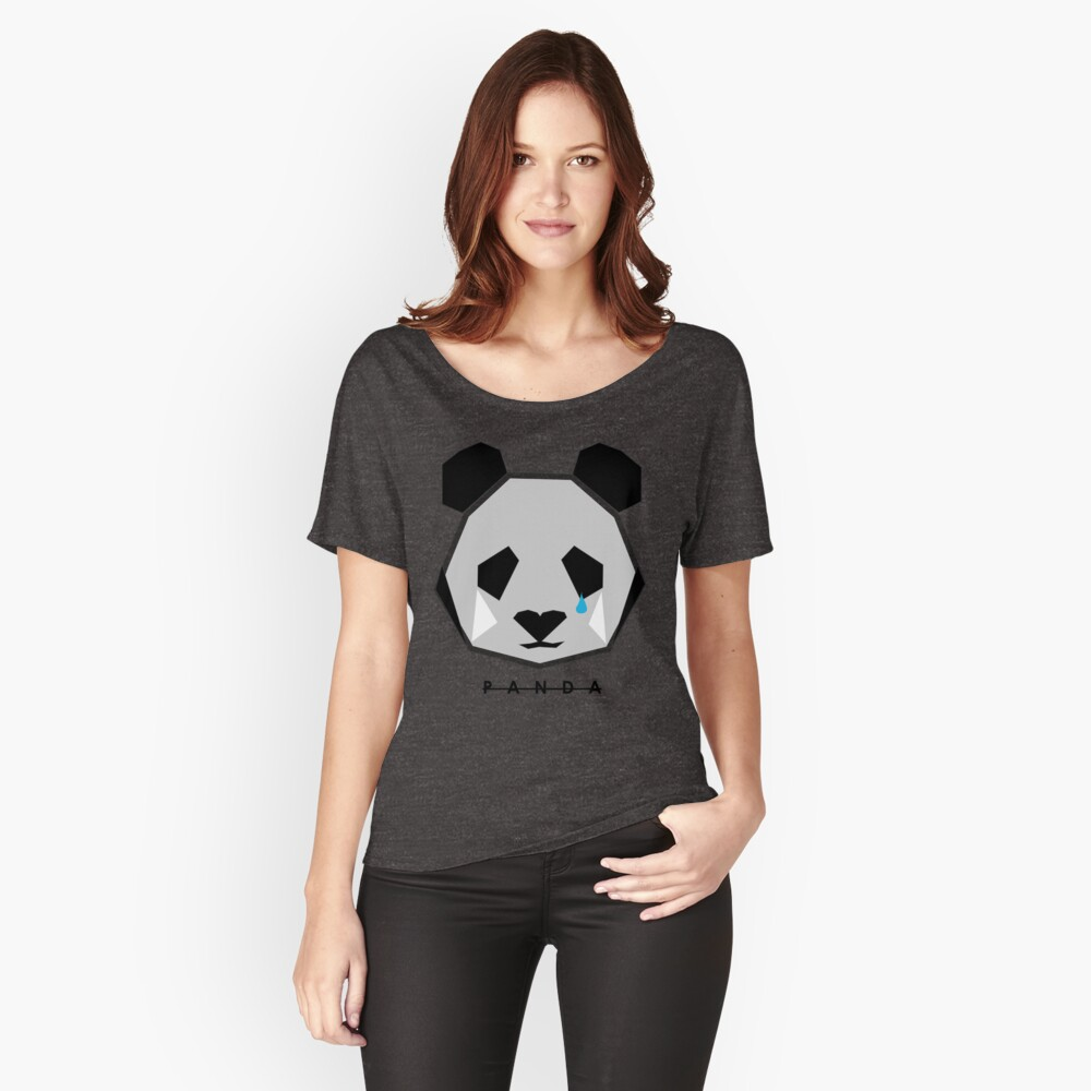 JACK BUCK OFFICIAL PANDA ICON MERCH Relaxed Fit T-Shirt
