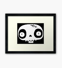 Skull Boy Framed Print