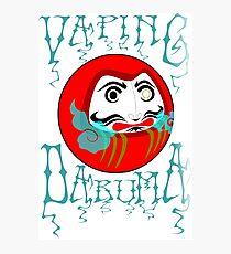 vaping daruma Photographic Print