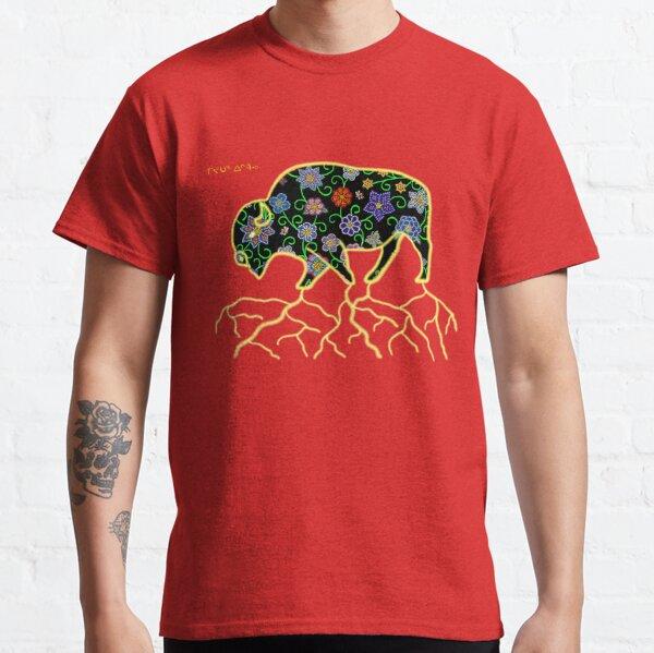 buffle floral T-shirt classique