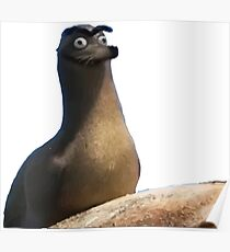 Póster Gerald Finding Dory