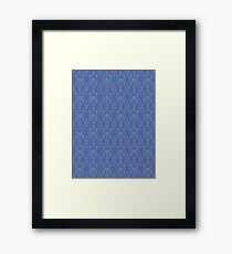 Royal Air Force Blue Design C Framed Print