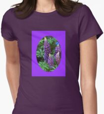 Oval Lupins Vignette T-Shirt