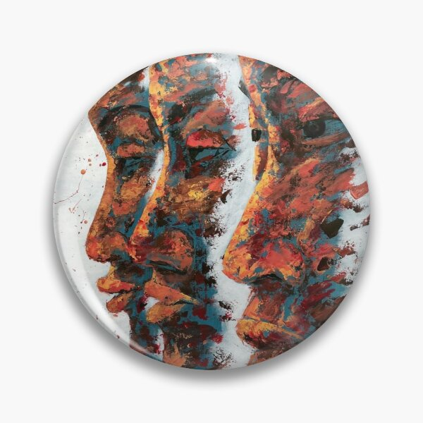 Faces - African Theme Pin