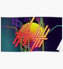 Fifth Dimension Ambigram Solar Poster